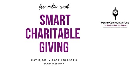 Smart Charitable Giving tickets