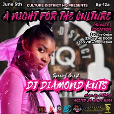 A NIGHT FOR THE CULTURE tickets