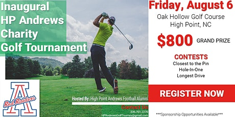 Inaugural HP Andrews Charity Golf Tournament tickets