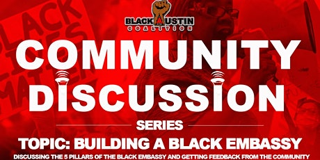 Black Austin Coalition Community Discussion Series tickets
