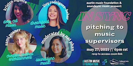 IN SYNC: Pitching to Music Supervisors tickets