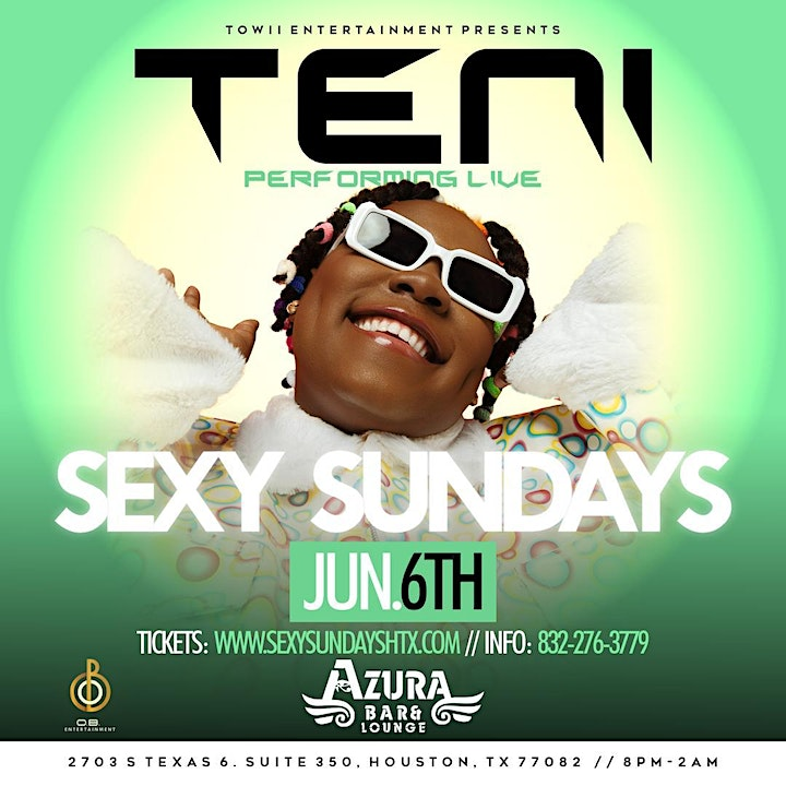 TENI The Entertainer Performing Live In Houston image