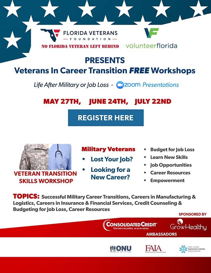 Veterans in Career Transition (After the Military and Job Loss) image