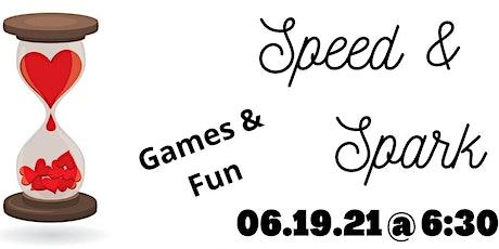 Speed Dating Dinner: Speed & Spark tickets