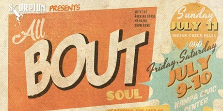ALL 'BOUT SOUL tickets