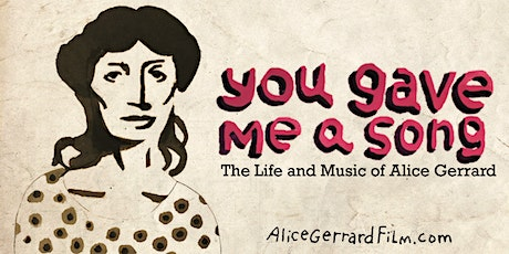 You Gave Me a Song: Online Screening and Discussion tickets