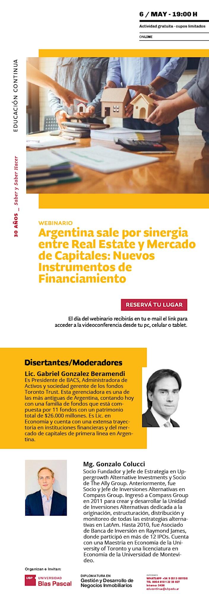 Imagen de Webinario> Nuevos instrumentos de Financiamiento