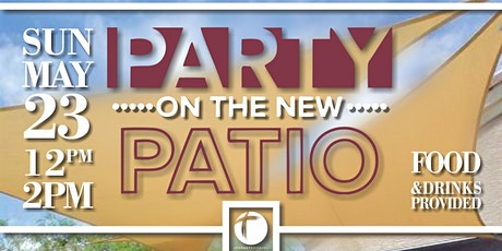 Party on the new Patio tickets