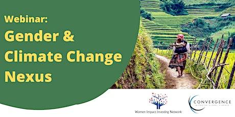 Gender & Climate Change Nexus tickets
