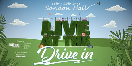 Live at the Drive In - Sunday: Afternoon tickets