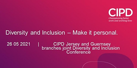 Diversity and Inclusion – Make it personal tickets