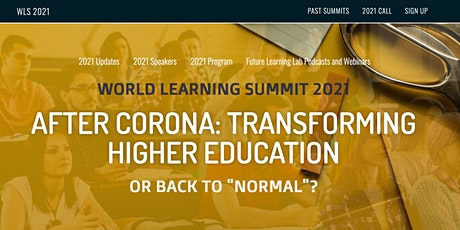 World Learning Summit 2021 tickets