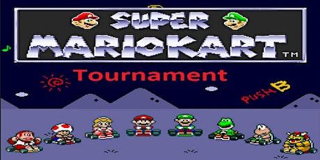 Super Mario Kart - Snes Tournament. tickets