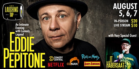 Eddie Pepitone at The Laughing Tap tickets