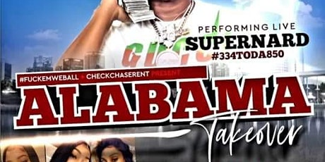 Alabama TakeOver at Vibez tickets