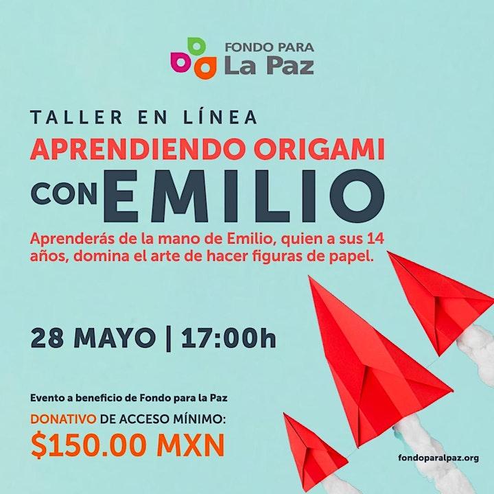 Imagen de Aprendiendo Origami con Emilio