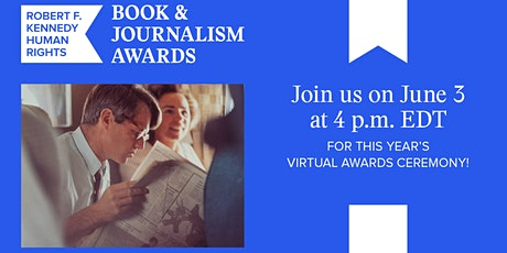 RFK Human Rights Book and Journalism Virtual Awards Ceremony tickets