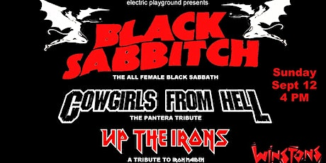 Black Sabbitch, Cowgirls from Hell & Up the Irons tickets