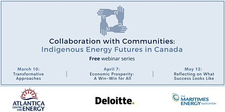 Collaboration with Communities: Indigenous Energy Futures in Canada tickets