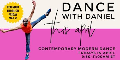 Dance With Daniel: Contemporary Modern Dance Class tickets
