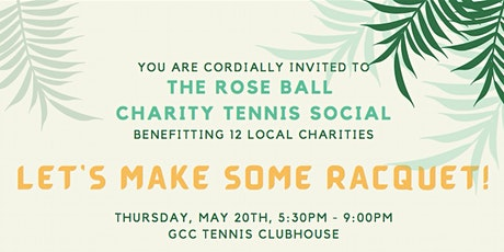 The Rose Ball Charity Tennis Social tickets