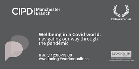 Wellbeing in a Covid world: Navigating our way through the pandemic tickets