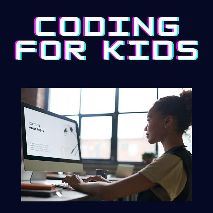 Calgary STEM Summer Camps for Kids! - Coding image