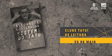 CLUBE TATUÍ DE LEITURA | Sistema do tato ingressos