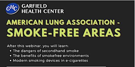 American Lung Association - Smoke-free areas WEBINAR tickets