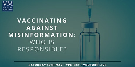 Vaccinating Against Misinformation: Who is Responsible? tickets