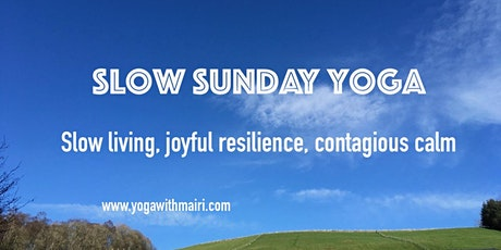 Slow Sunday Yoga tickets