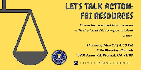 AIB2B Let's Talk Action: FBI Resources to #StopAsianHate tickets