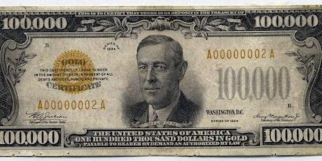 Money Museum Morning Ticket (6/1/21 - 6/4/21) tickets