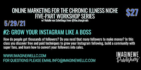 Grow Your Instagram Like a Boss tickets