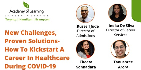 How to kickstart a career in healthcare during COVID-19 tickets