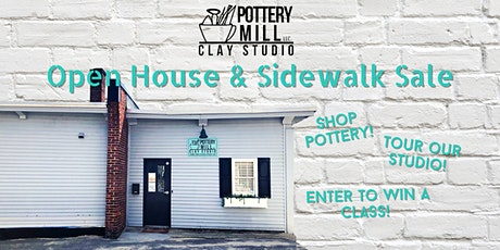 Pottery Side Walk Sale and Open House at  Pottery Mill! tickets