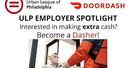 ULP Employer Spotlight-Featuring DOORDASH tickets