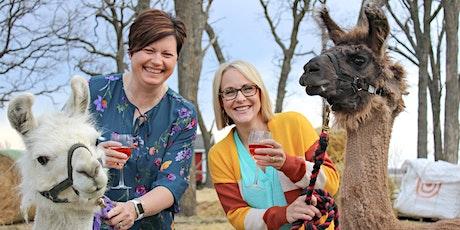 Llama Llama Wine with Mama tickets