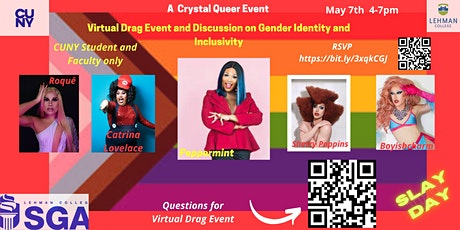 Virtual Drag Event and Discussion on Gender Identity and Inclusivity tickets