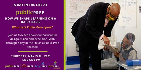 A Day in the Life at Public Prep: How We Shape Learning on a Daily Basis tickets