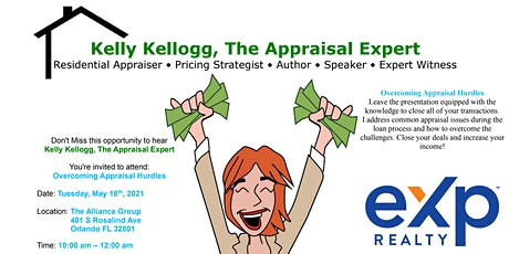 Appraisal Hurdles: How Close Your Deals & Increase Your Income tickets