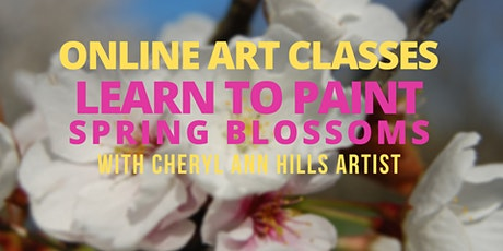 Learn to Paint Spring Blossoms tickets