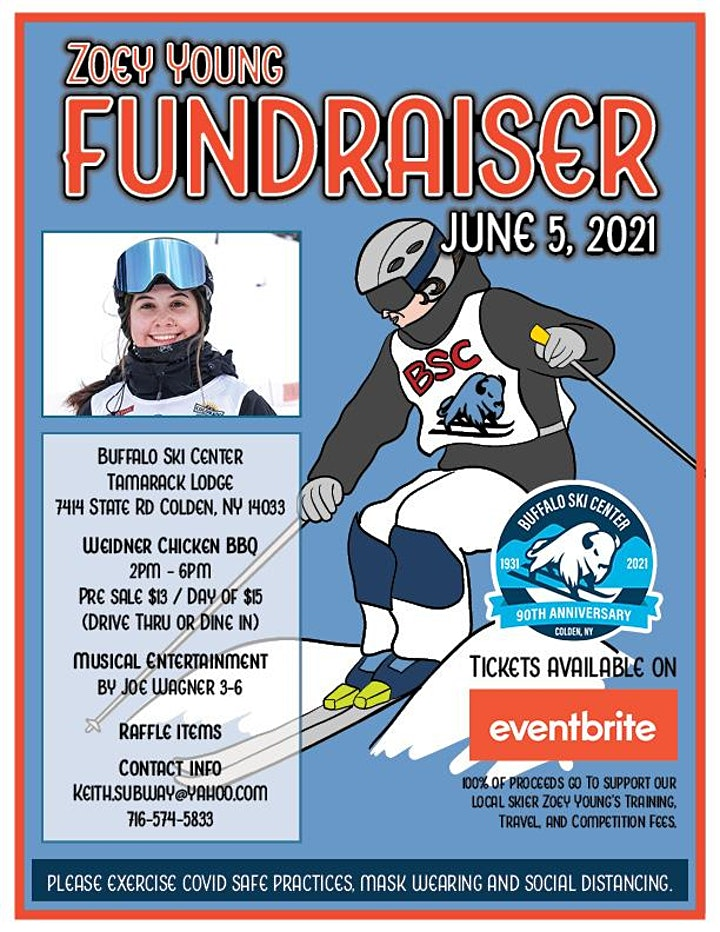 Chicken BBQ Fundraiser for BSC athlete  Zoey Young image