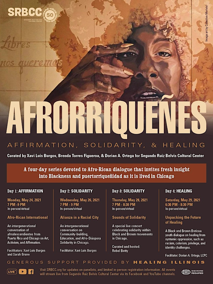 Afrorriqueñes: Afirmation, Solidarity and Healing image