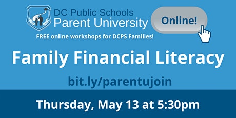 Family Financial Literacy tickets