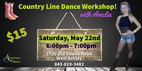Country Line Dancing!   with AMELIA tickets