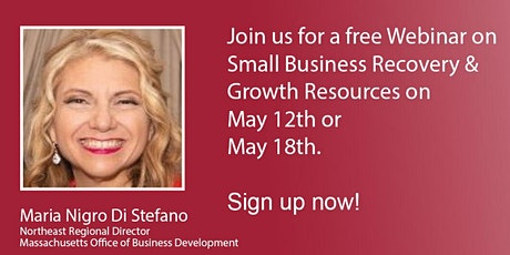 Free Live Webinar on Small Business  Recovery and Growth Resources tickets