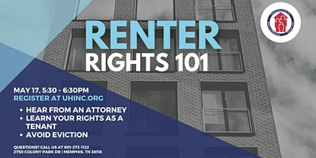 Renter Rights & Financing 101 tickets