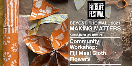 Community Workshop: Fiji Masi Cloth Flowers tickets