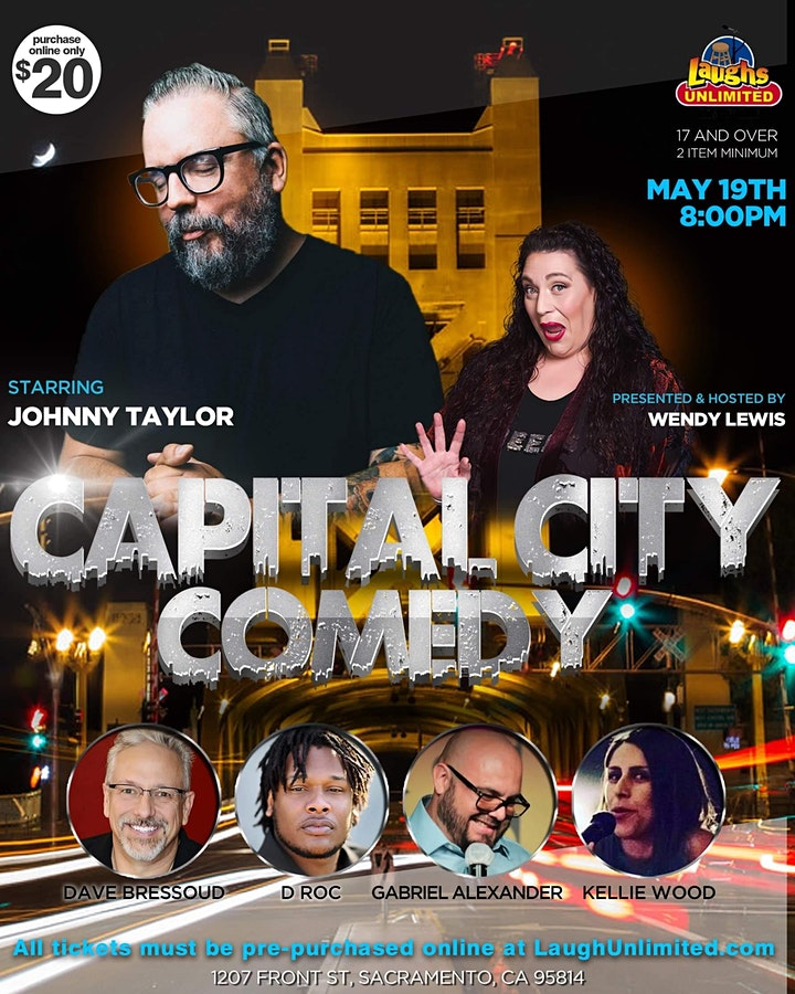 Capital City Comedy - Presented by Wendy Lewis image